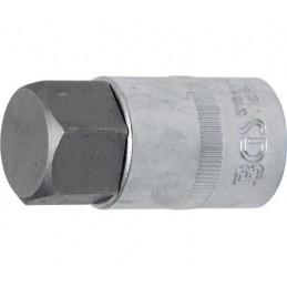 """Llave de vaso 1/2"""" con punta Allen Largo 53mm. 24mm."""