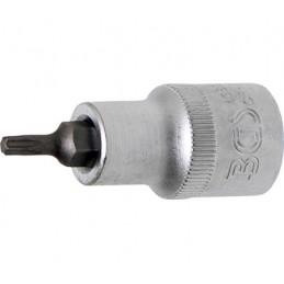 """Llave de vaso 1/2"""" con punta Torx Largo 53mm. T20"""