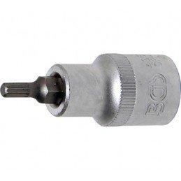 """Llave de vaso 1/2"""" con punta Torx Largo 53mm. T15"""