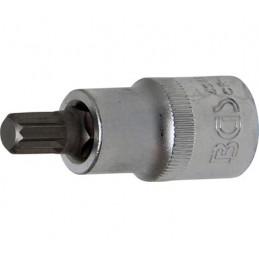 """Llave de vaso 1/2"""" con punta XZN Largo 53mm. M9"""