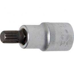 """Llave de vaso 1/2"""" con punta XZN Largo 53mm. M10"""