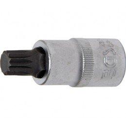 """Llave de vaso 1/2"""" con punta XZN Largo 53mm. M12"""