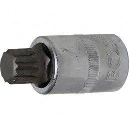 """Llave de vaso 1/2"""" con punta XZN Largo 53mm. M16"""