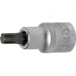 """Llave de vaso 1/2"""" con punta XZN Largo 53mm. R8"""