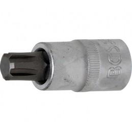"""Llave de vaso 1/2"""" con punta XZN Largo 55mm. R12"""
