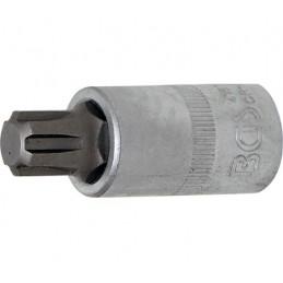 """Llave de vaso 1/2"""" con punta XZN Largo 55mm. R13"""