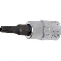 """Llave de vaso 1/4"""" con punta Torx Inviolable TH25"""