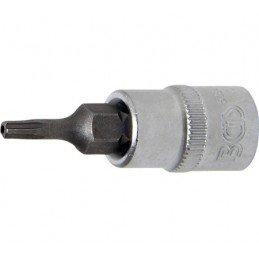 """Llave de vaso 1/4"""" con punta Torx Inviolable TS10 (5 PUNTAS)"""