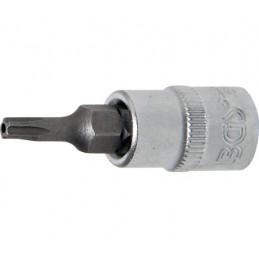 """Llave de vaso 1/4"""" con punta Torx Inviolable TS15 (5 PUNTAS)"""