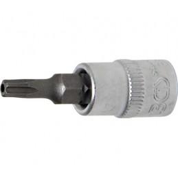 """Llave de vaso 1/4"""" con punta Torx Inviolable TS20 (5 PUNTAS)"""
