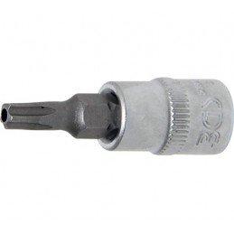 """Llave de vaso 1/4"""" con punta Torx Inviolable TS25 (5 PUNTAS)"""
