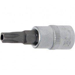 """Llave de vaso 1/4"""" con punta Torx Inviolable TS30 (5 PUNTAS)"""