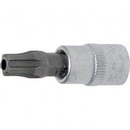 """Llave de vaso 1/4"""" con punta Torx Inviolable TS40 (5 PUNTAS)"""