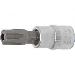 """Llave de vaso 1/4"""" con punta Torx Inviolable TS45 (5 PUNTAS)"""