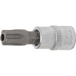 "Vaso punta 1/4"" T-Star (Torx Plus) con perforación TS45 BGS-5184-TS45"