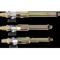Juego de adaptadores de aire comprimido para agujeros de calentadores M8 x 1.0, M10x1.0, M10x1.25