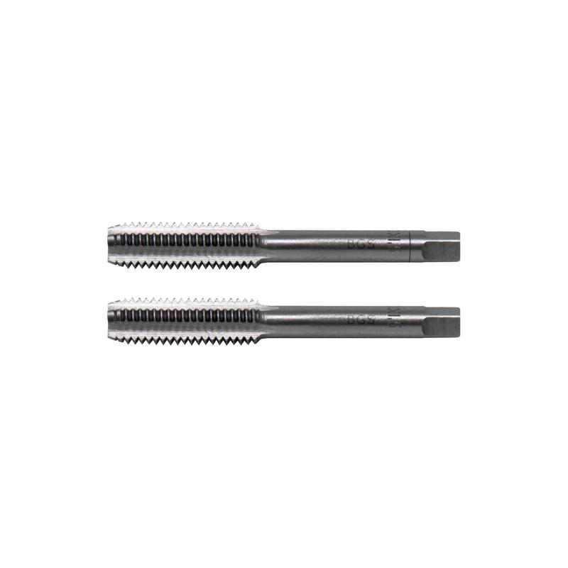 Juego 2 piezas de machos de roscar M10x1.50 inicial y de acabado