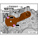 Juego para el ajuste del árbol de levas para VAG motores 1.2 / 1.4 TSi / TFSi