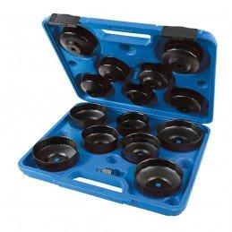 Jogo 15 PCs chaves de filtro de óleo.