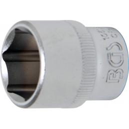 """Llave de vaso corto 3/8"""" 6 caras Pro Torque® 18mm. BGS-10618"""