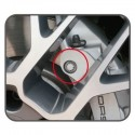 Llave de vaso para pinzas de freno para VAG y Porsche