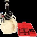 Sistema de enchimento de óleo de transmissão