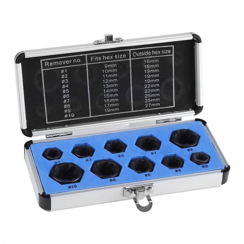 BGS 1895 tama/ño 1-5 Juego de extractores de tornillos 5 piezas