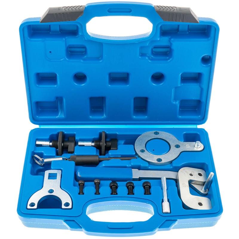 Puesta a punto motor distribuci/ón y sincronizaci/ón /árbol levas Kit calado de distribuciones para Opel Fiat y Saab 1.3 1.9 y 2.4 D CDTI