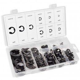 300 piezas métricas e-clip, 1.5 - 22 mm, A-TC502, ASTA TOOLS