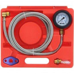 Test de contra-presión de gases de escape