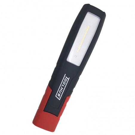 Lámpara recargable de 18 + 1 Led Smd con 4 Leds UV