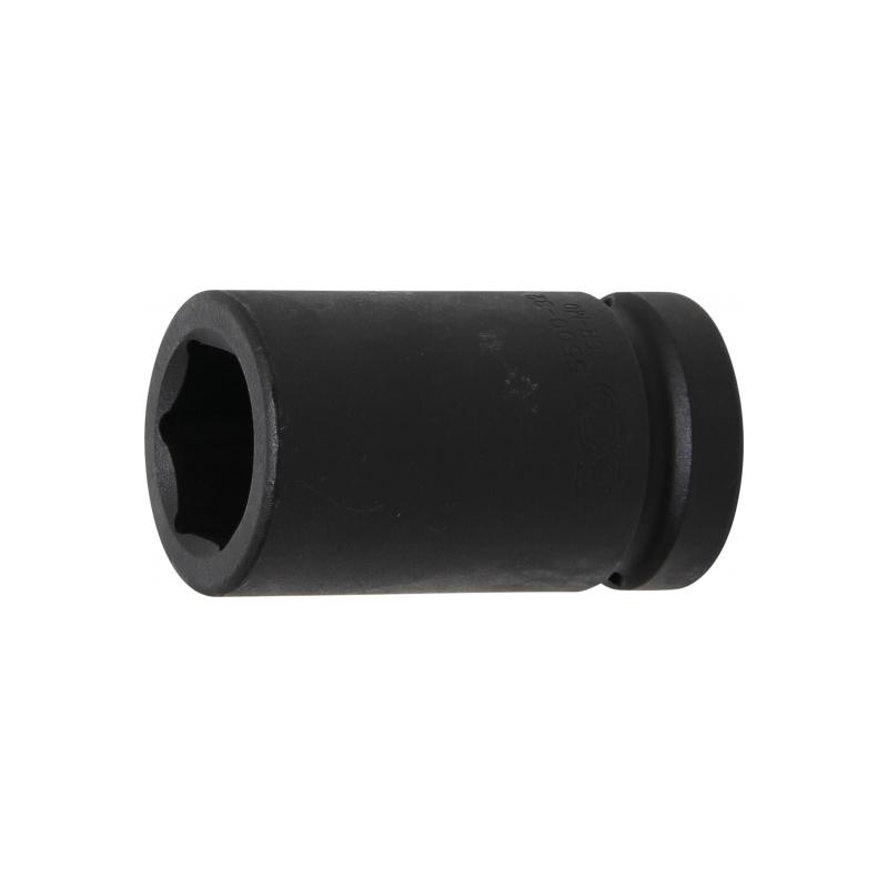 negro 32 mm paquete de 1 llave de impacto neum/ática para llave de impacto el/éctrica llave de impacto de aire 8 6 puntos Llave de vaso de impacto universal BE-TOOL de 1//2 pulgada