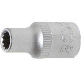 """Llave de vaso corto 1/4"""" 12 caras 5mm. BGS-10775"""