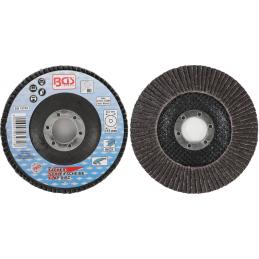 Disco de láminas de 115 mm de diámetro, grano 80. BGS-3971