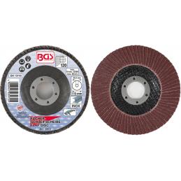 Disco de láminas Ø 115 mm, grano 120. BGS-3972