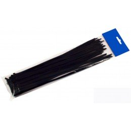 Saco 100 Braçadeiras 100% nylon, qualidade 6,6 2,5 X 200 mm