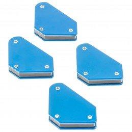 Set 4 Mini escuadras Magnéticas 45°-90°-135°