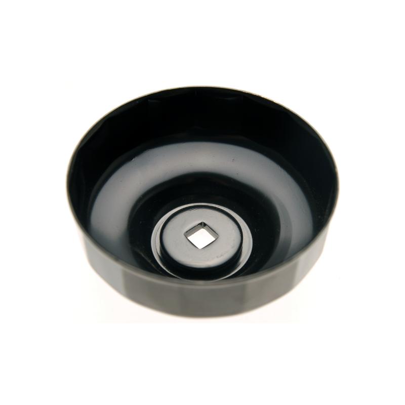 Cazoleta para filtros de aceite 15 caras Ø 74 mm para Audi, Chrysler, GM, Rover BGS-1039-74-15