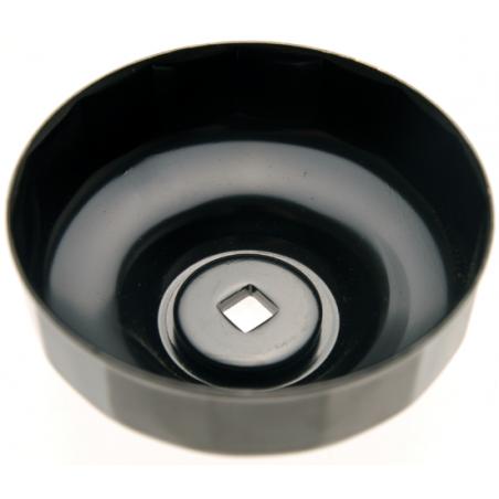 Cazoleta para filtros de aceite 15 caras Ø 74 mm para Audi, Chrysler, GM, Rover