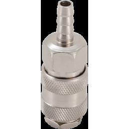 Enchufe rápido con conexión de espiga de 6 mm. para mangueras. BGS-3226