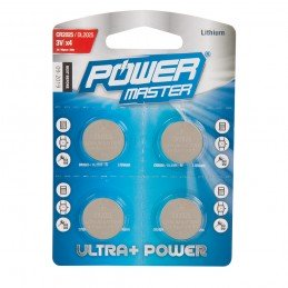 Pilas de botón CR2025  4 piezas