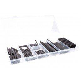 127 piezas de manguera termo retráctiles