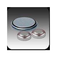 Pilhas botão